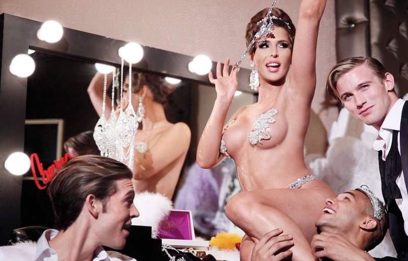 Carmen Carrera by Steven Meisel for W September 2013