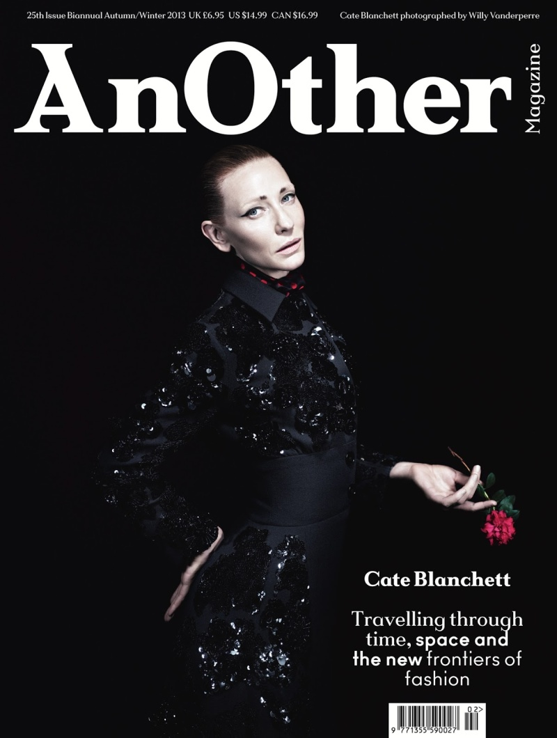 Cate Blanchett By Willy Vanderperre For Another Autumn/Winter 2013