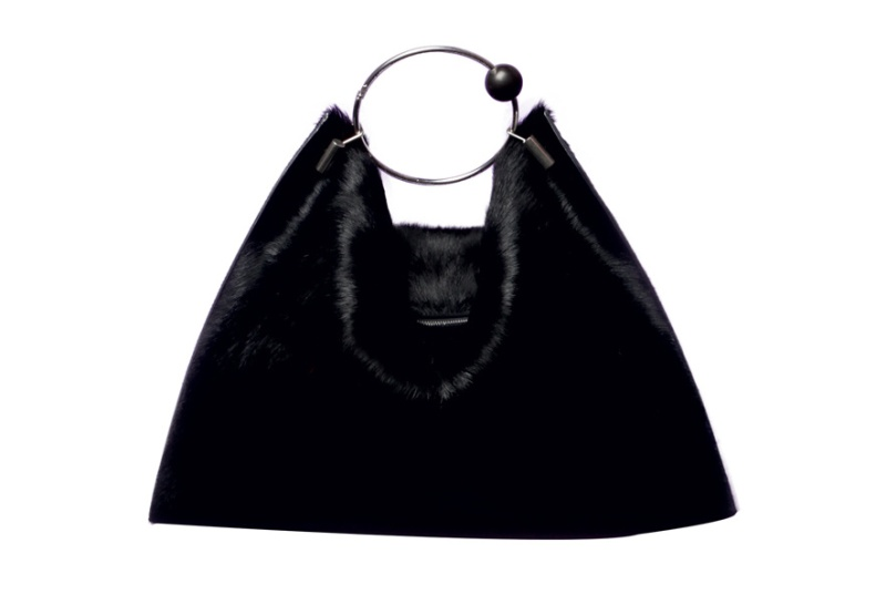 Céline  Black mink bag, 2200 euros