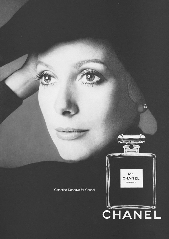 1972 - Catherine Deneuve by Richard Avedon