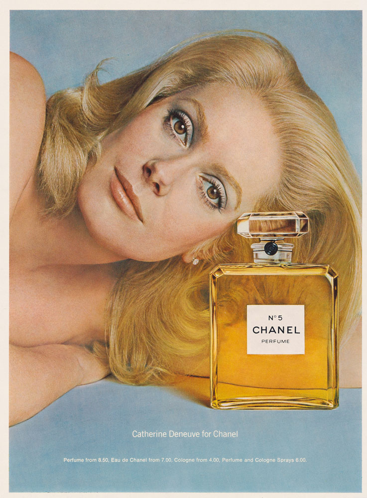 1975 - Catherine Deneuve by Richard Avedon