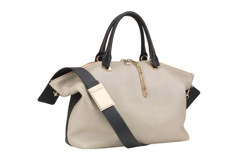 Chloé  Monochrome Baylee bag, €1500.