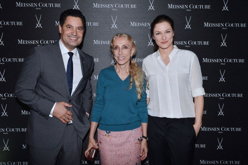 Christian Kurtzke, Franca Sozzani and Frida Weyer - © SGP