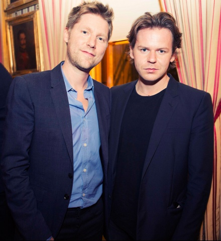 Christopher Bailey and Christopher Kane