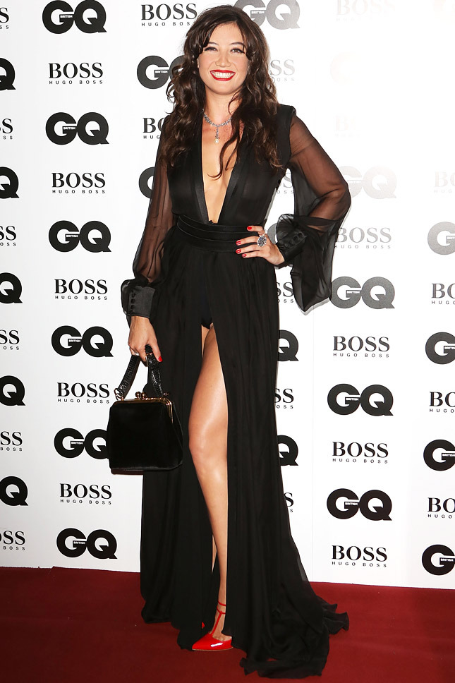 Daisy Lowe in Saint Laurent
