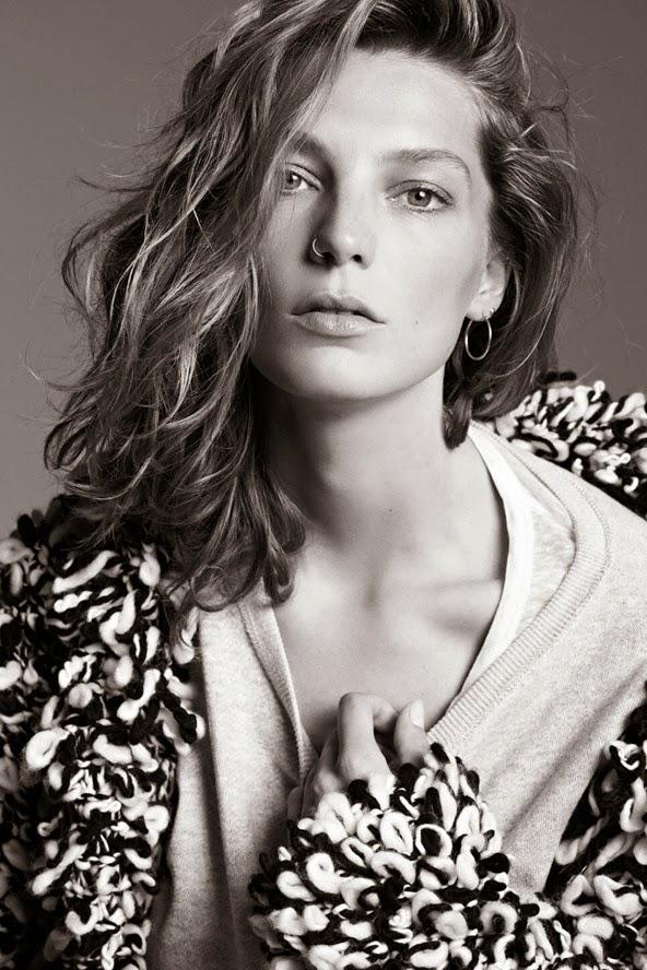 Daria Werbowy by Karim Sadli for Isabel Marant X H&M ad campaign