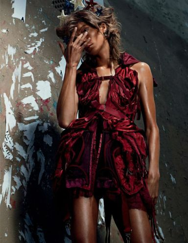 Daria Werbowy By Willy Vanderperre For Vogue Russia October 2013