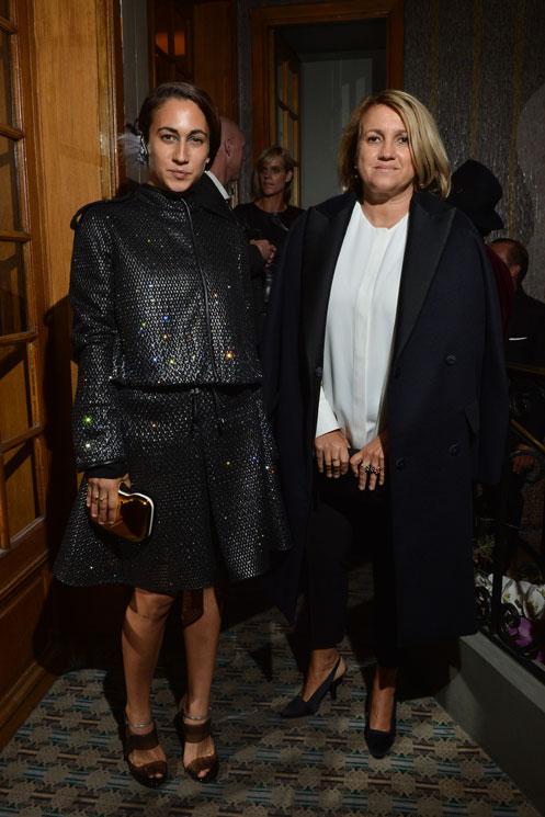 Delfina Delettrez Fendi and Silvia Venturini Fend