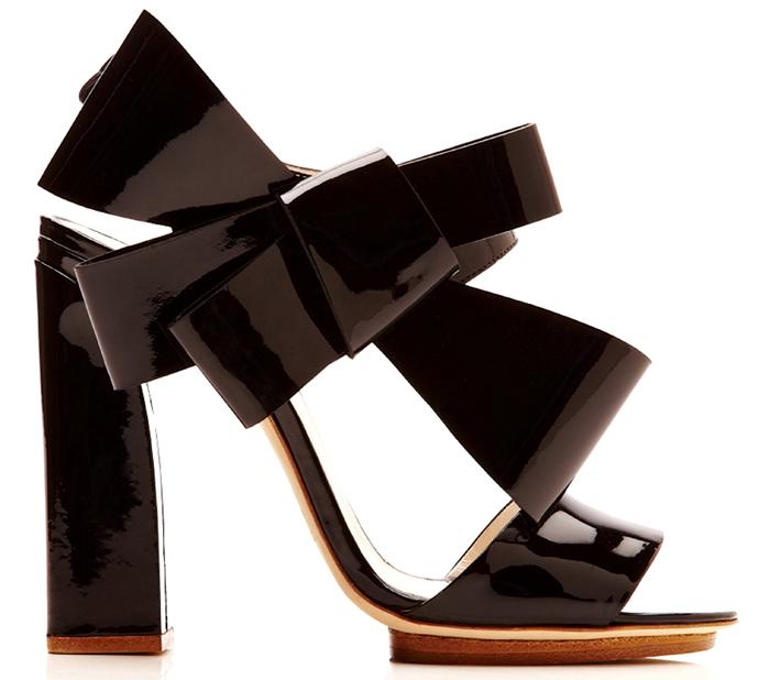 Delpozo spring/summer 2014 sandals