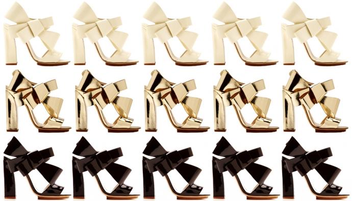 Delpozo spring:summer 2014 sandals