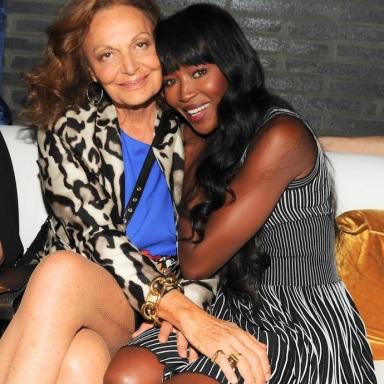 Naomi Campbell, Diane von Furstenberg