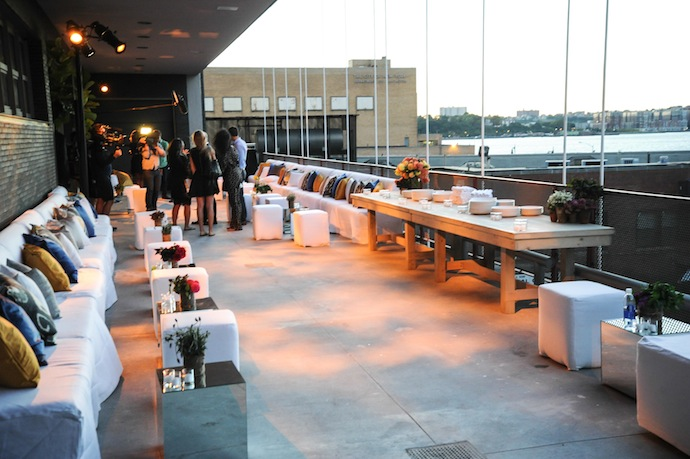 Atmosphere at DIANE VON FURSTENBERG Fall 2013 After Show Dinner