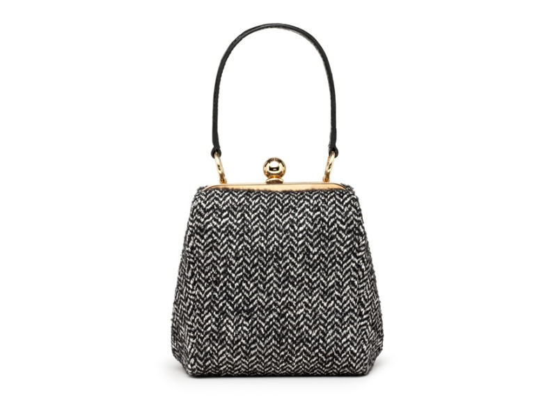 Dolce & Gabbana  Tweed and leather Agata bag, €1100