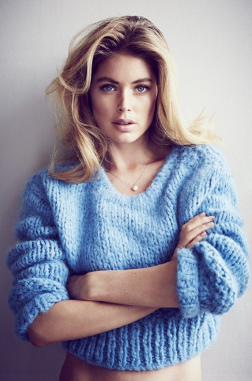 Doutzen Kroes by Will Davidson for Telegraph Fashion Fall/Winter 2013.14