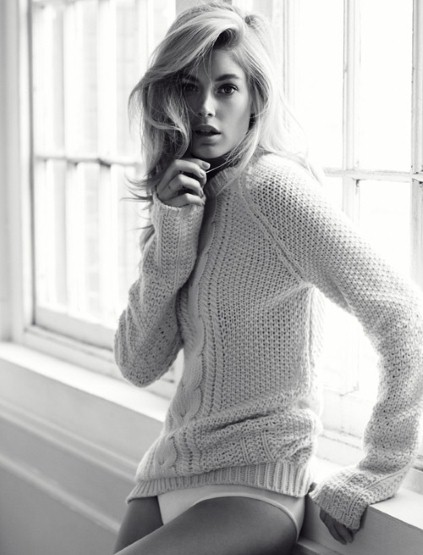 Doutzen Kroes by Will Davidson for Telegraph Fashion Fall/Winter 2013.14