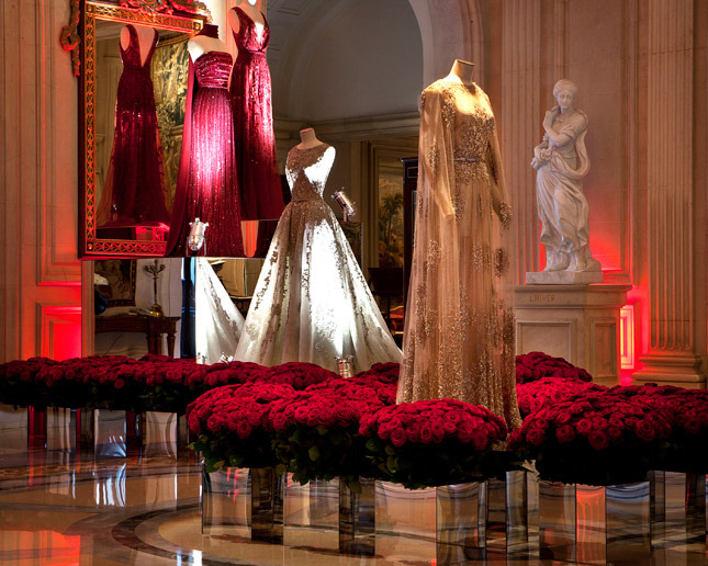 Elie Saab Exhibition At George V Hotel in Paris