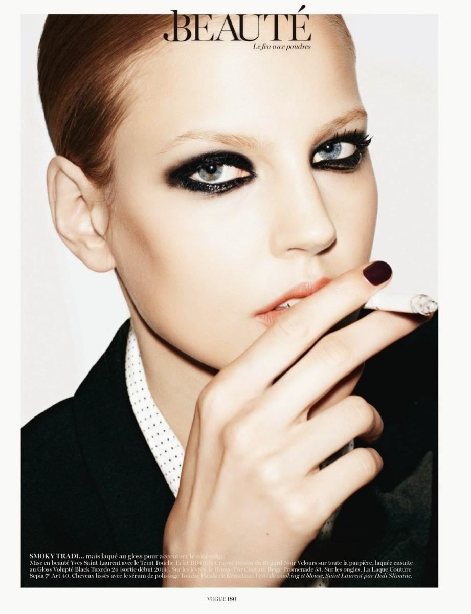 Elisabeth Erm by Katja Rahlwes for Vogue Paris October 2013