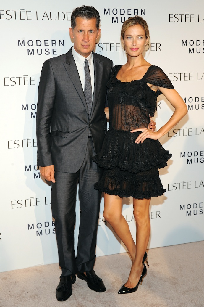 Stefano Tonchi and Carolyn Murphy