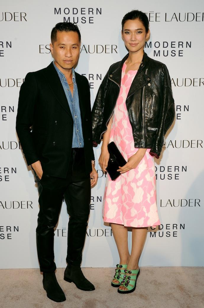 Philip Lim and Tao Okamoto