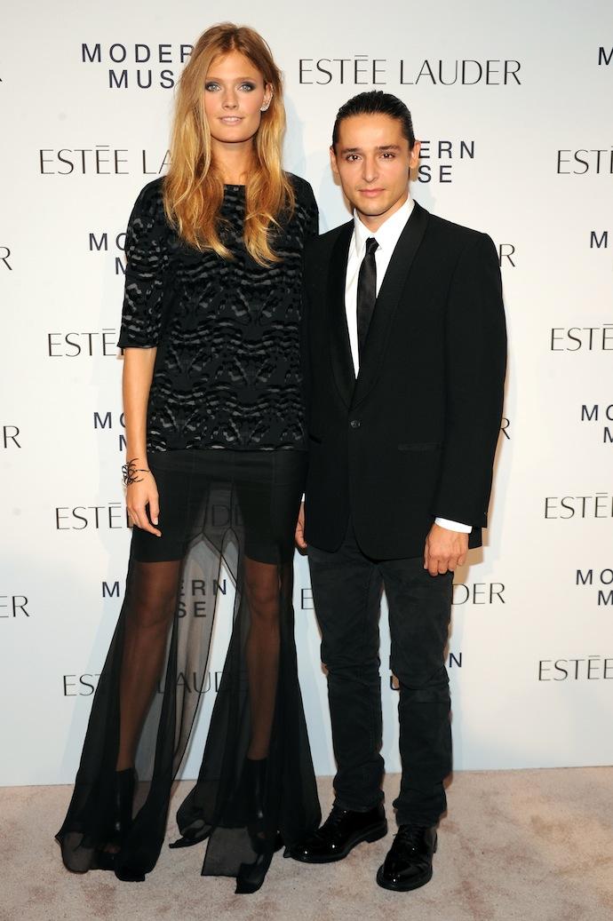 Constance Jablonski and Olivier Theyskens