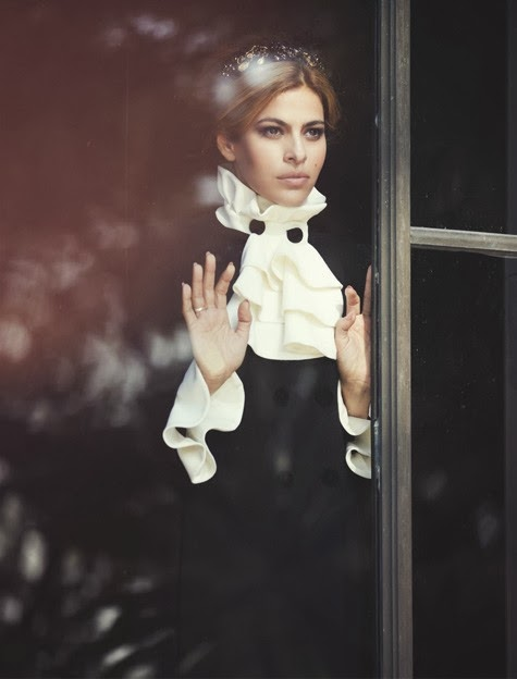 Eva Mendes by David Bellemere for The Edit September 26, 2013