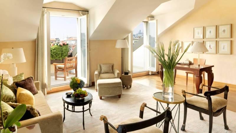 Four Seasons Hotel Milano Royal Suite