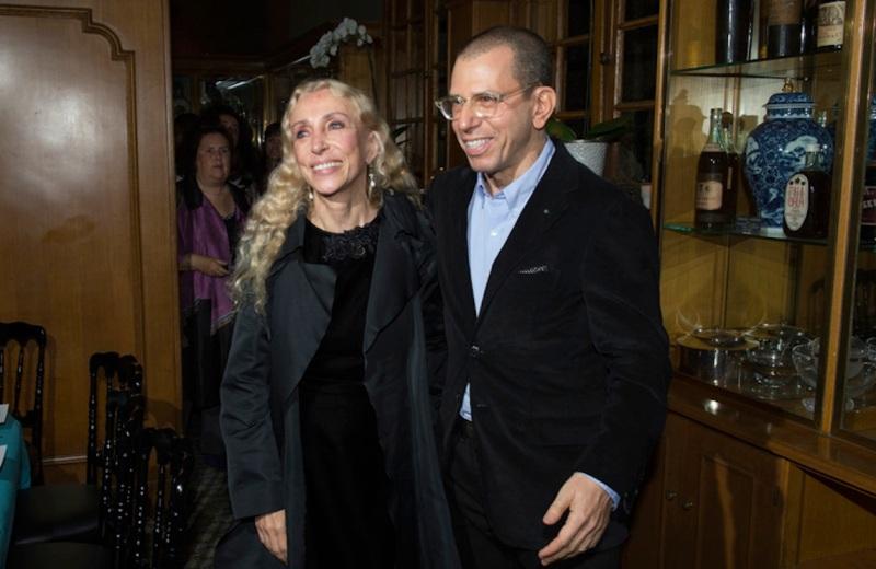 Franca Sozzani e Jonathan Newhouse