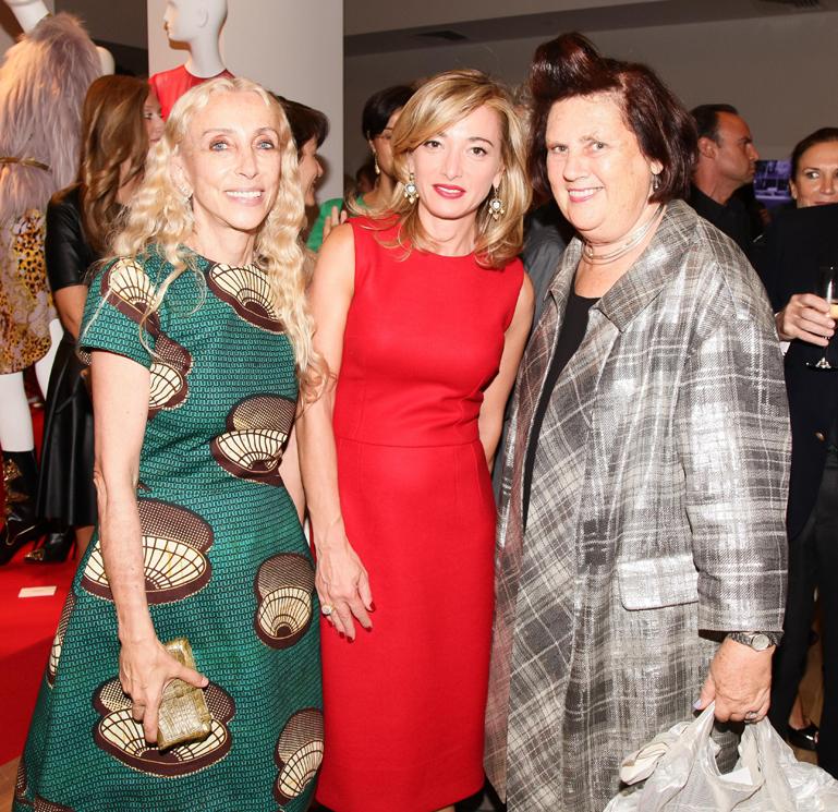 Franca Sozzani, Federica Marchionni, Suzy Menkes