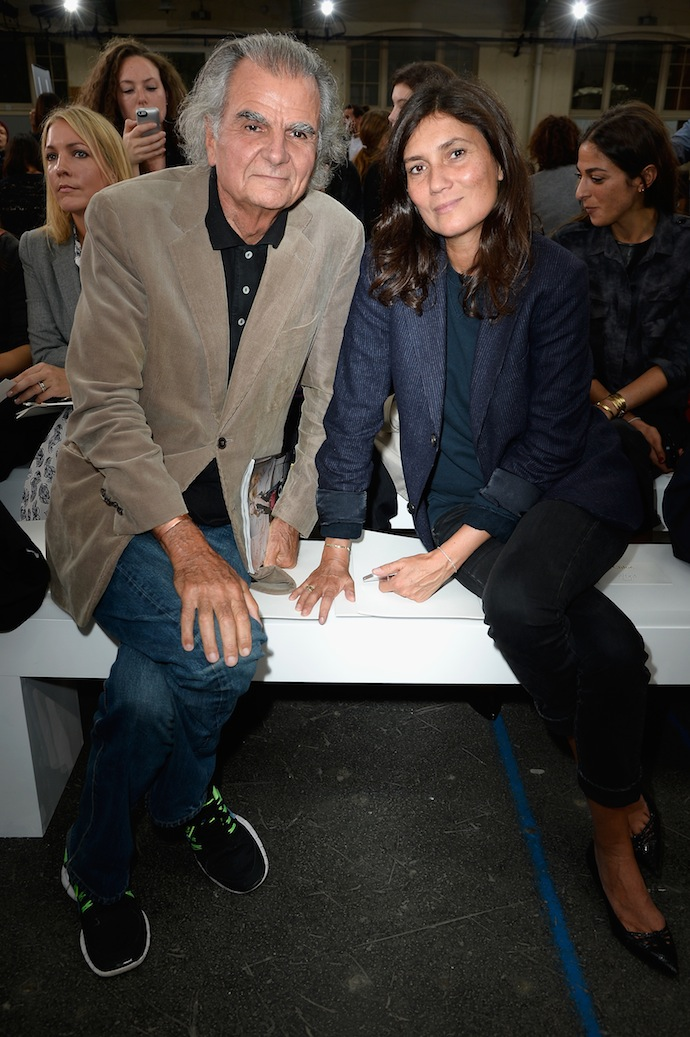 Patrick Demarchelier and Emmanuelle Alt