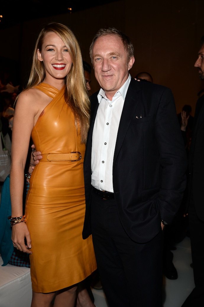 Blake Lively and Francois Henri Pinault