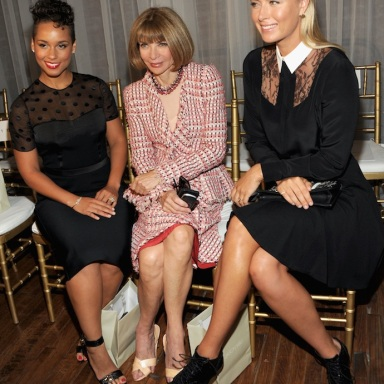 Alicia Keys, Anna Wintour and Maria Sharapova