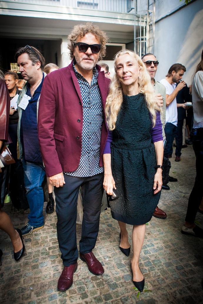 Renzo Rosso and Franca Sozzani