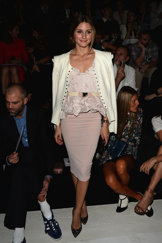 Front Row at Nina Ricci Spring/Summer 2014 collection