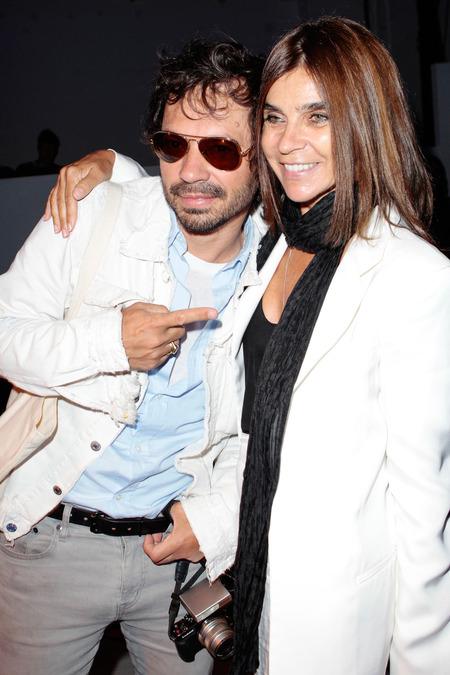 Olivier Zahm and Carine Roitfeld.