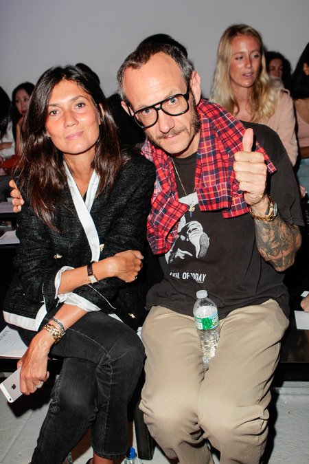 Emmanuelle Alt and Terry Richardson