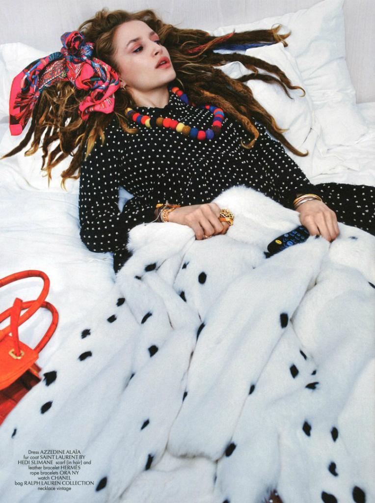 Gemma Refoufi By Kacper Kacprzyk For CR Fashion Book 3