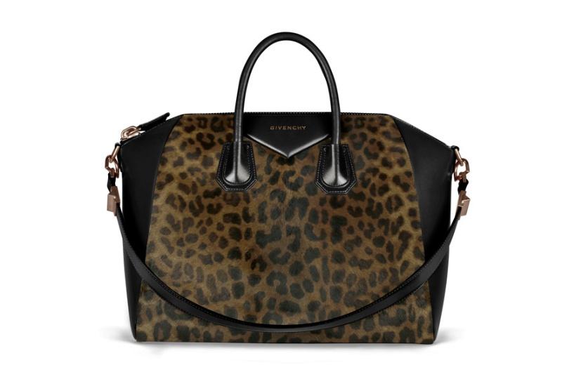 Givenchy by Riccardo Tisci  Leopard print calfskin Antigona bag, €2290.