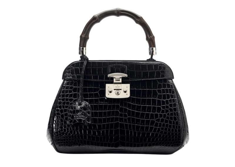 Gucci  Crocodile leather Lady Lock bag
