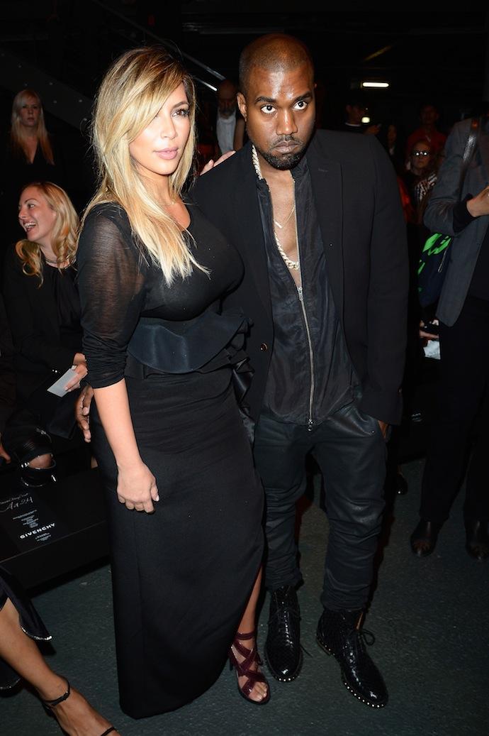 Kanye & Kim Kardashian