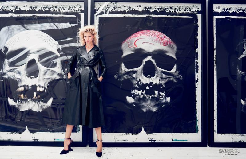Hana Jirickova by Marcin Tyszka for Vogue Portugal October 2013