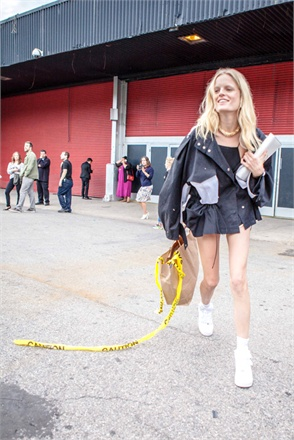 Hanne Gaby Odiele - Photo Courtesy of Adriano Cisani © whatAstreet