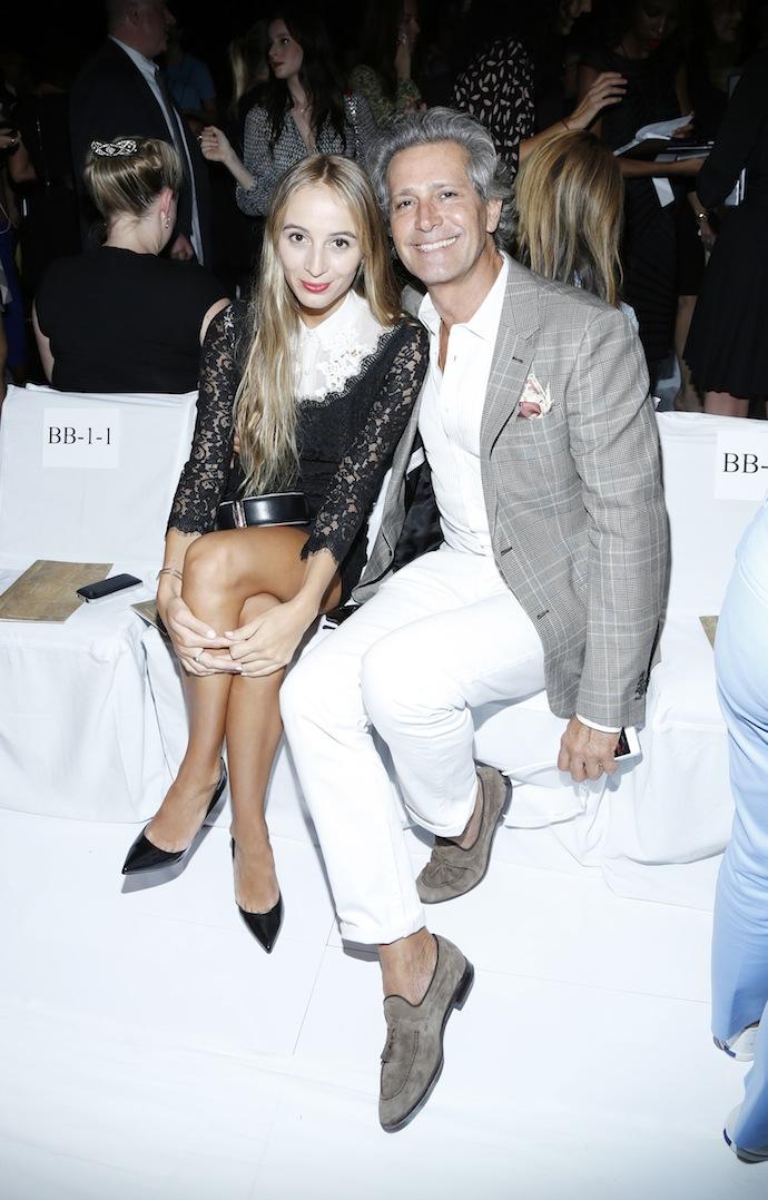 Harley Vera Newton and Carlos Souza