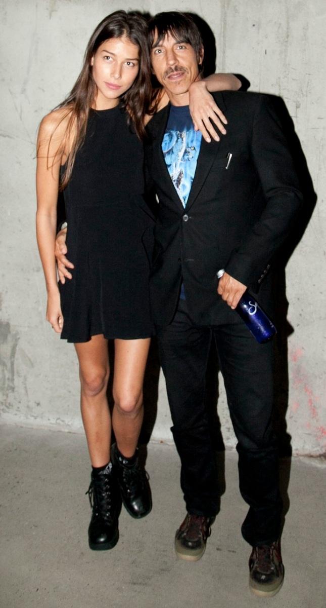 Helena Vestergaard and Anthony Kiedis