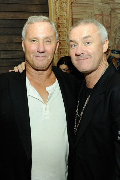 Ian Schrager and Damien Hirst