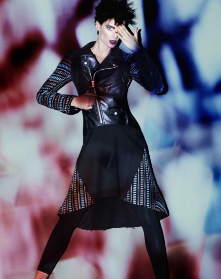 Iris Strubegger by Benjamin Lennox for Bergdorf Goodman Magazine Fall 2013