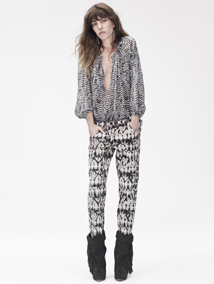 Isabel Marant X H & M collection