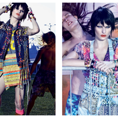 Isabelli Fontana by Zee Nunes for Vogue Brazil September 2013
