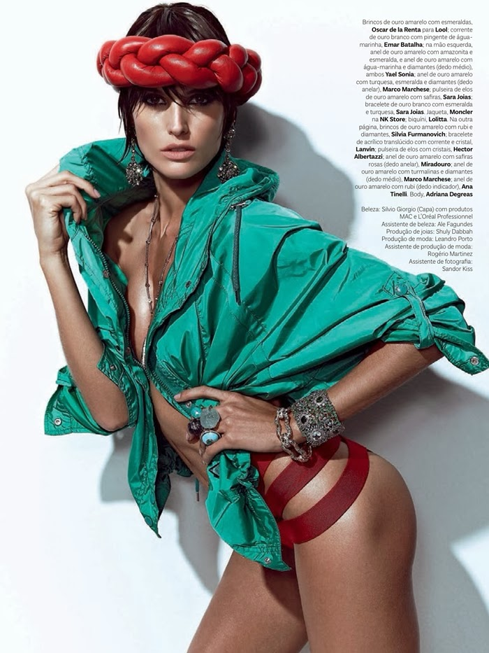Izabel Goulart by Zee Nunes for Vogue Brazil October 2013