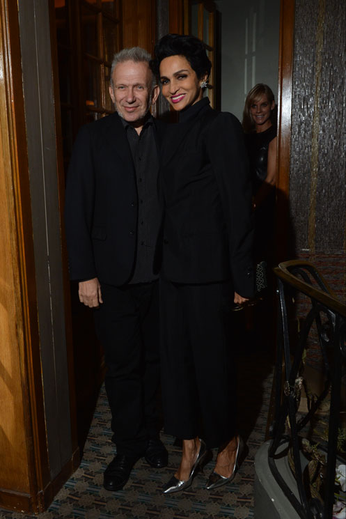 Jean-Paul Gautier and Farida Khelfa