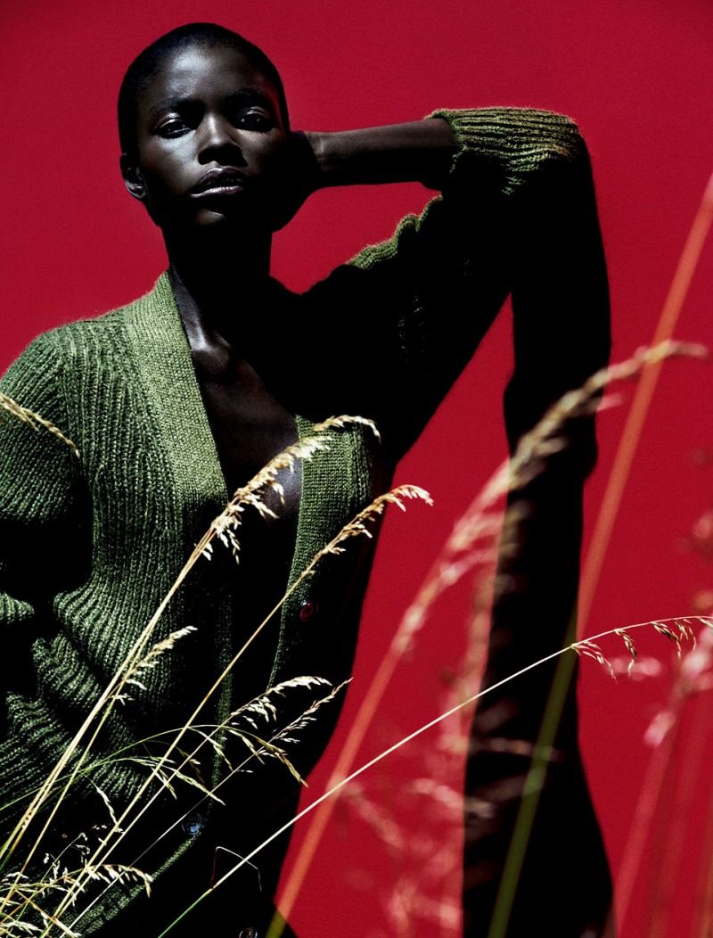 Jeneil Williams by Julia Noni for Vogue Germany September 2013